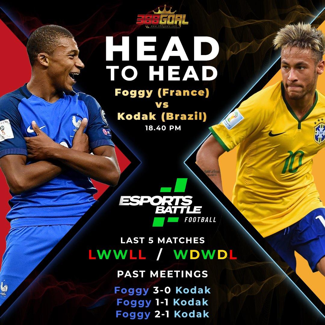 H2H Battle : ศึก Esport Battle Football ประจำวันนี้ จะประเดิมด้วยทัวร์นาเมนต์ทีมชาติ