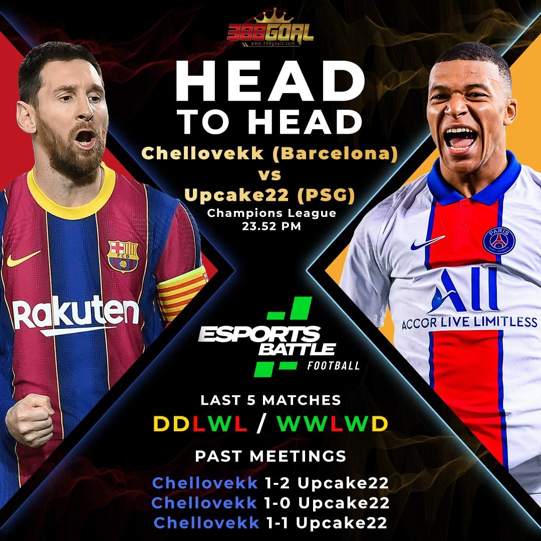 H2H Battle : ปิดท้ายคู่เด็ดของศึก Esport Battle Football ด้วยคู่เวลา 23.52 น. ระหว่างสองผู้เข้าแข่งขันที่กำลังมาดี