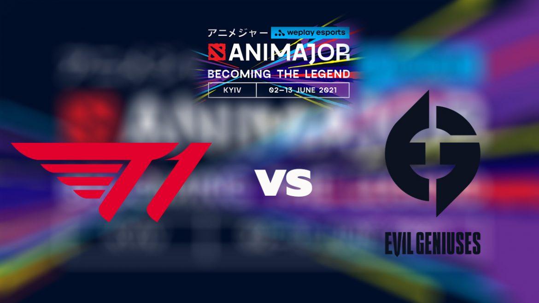 พรีวิว 13 มิ.ย. : T1 พบ Evil Geniuses ศึก WePlay AniMajor