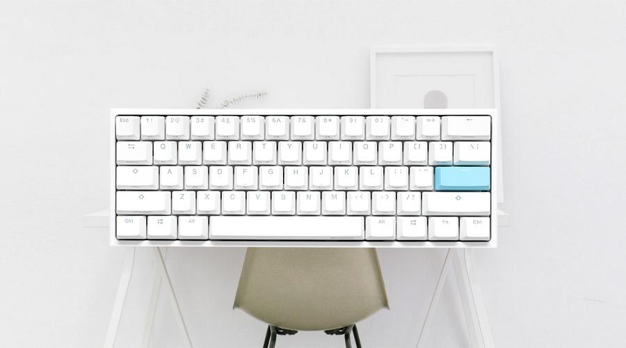 เป็ดน้อยที่ไม่น้อยกับ Ducky One 2 Mini RGB Pure White Mechanical Keyboard