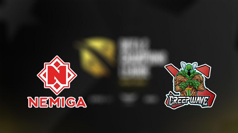 พรีวิว : Nemiga Gaming พบ Creepwave ศึก Champions League Season 4
